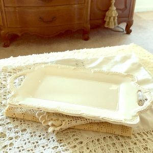 Reserved, Belinda- Pretty French Country platter
